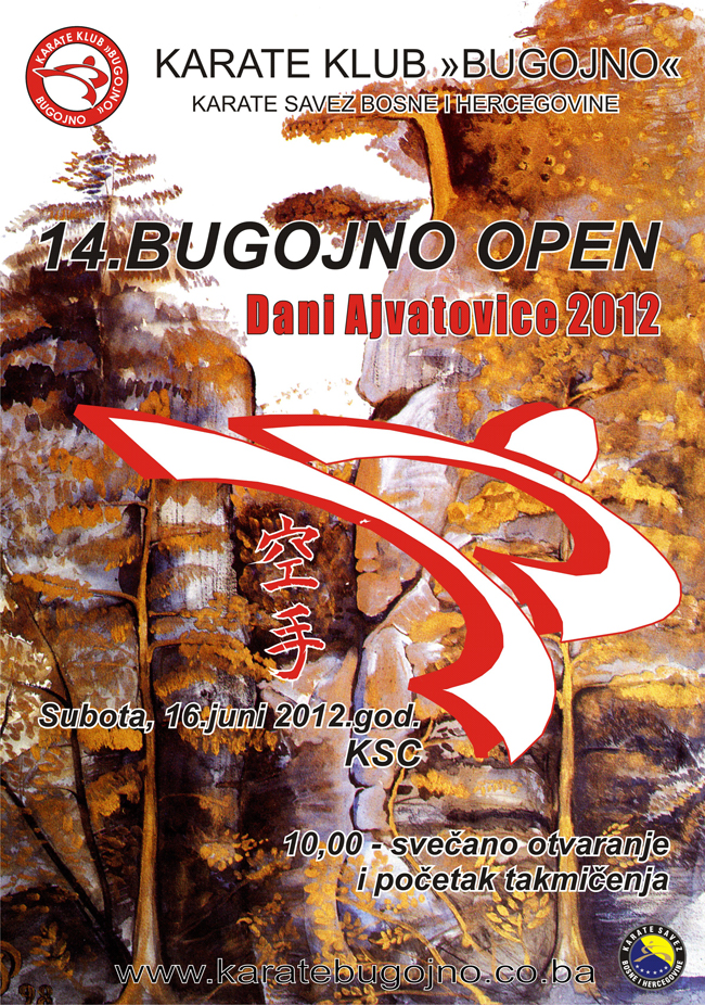 BUGOJNO OPEN 2012