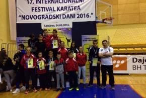 17. FESTIVAL  KARATEA  NOVOGRADSKI  DANI – Sarajevo 4.6.2016.