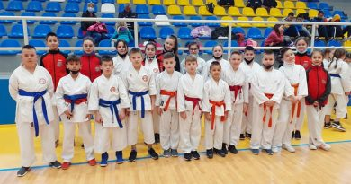 TK open ,Tuzla  i 1. kolo kantonalne karate lige SBK/KSB , Gornji Vakuf – Uskoplje