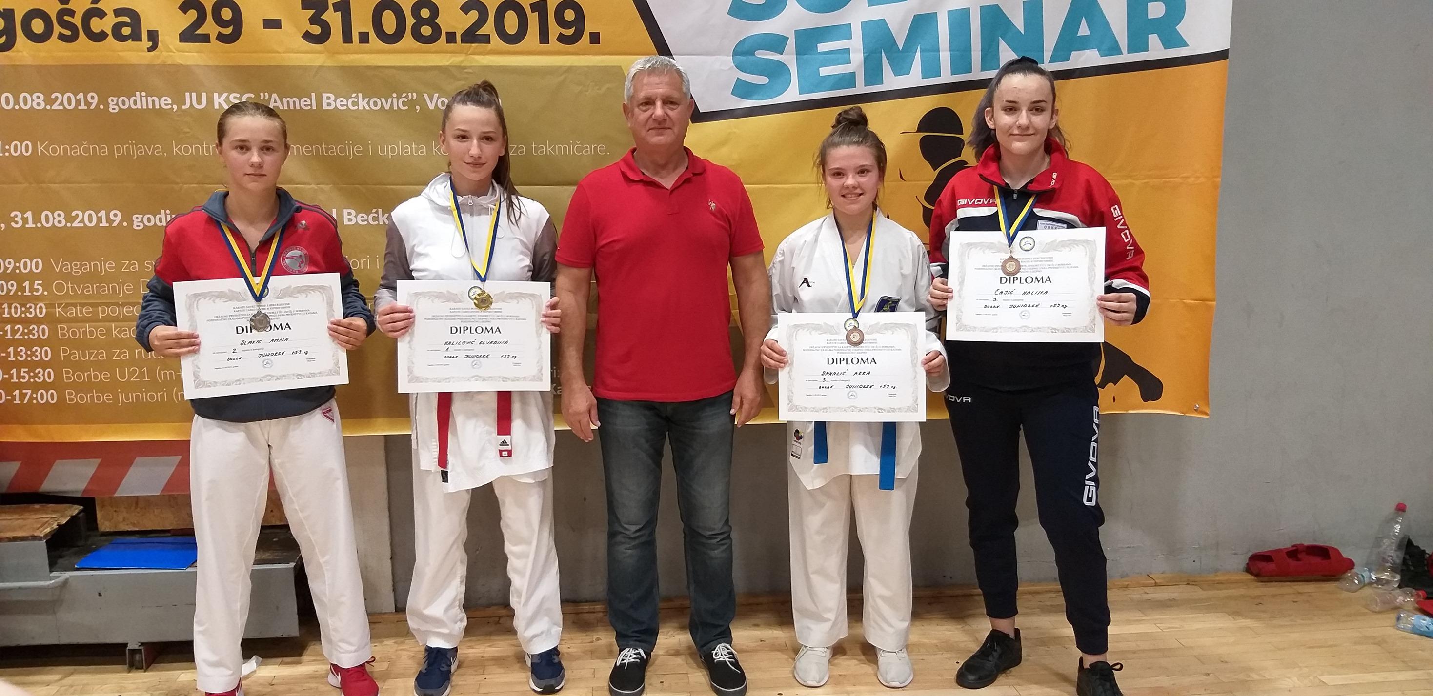 Državno prvenstvo za kadete,juniore i U21, Vogošća