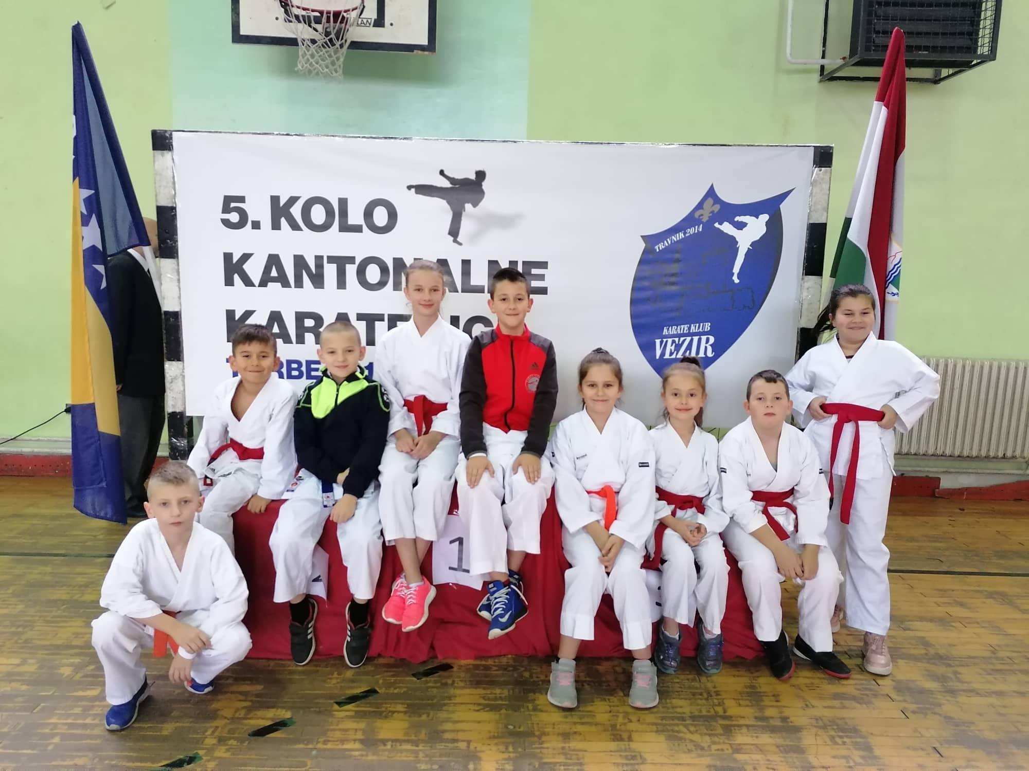 5.kolo kantonalne karate lige SBK/KSB, Turbe